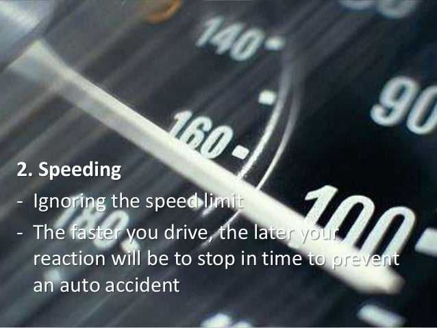 What are the effects of speeding on public roads?