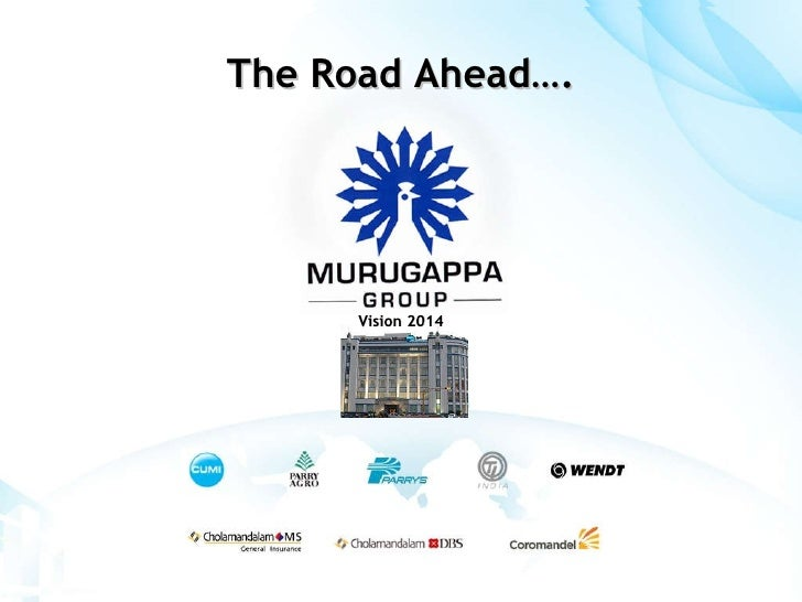 The Road Ahead…. Vision 2014