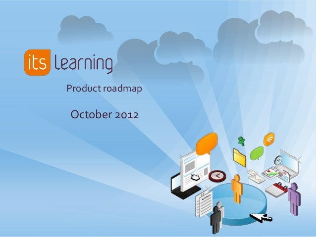 Product roadmapOctober 2012