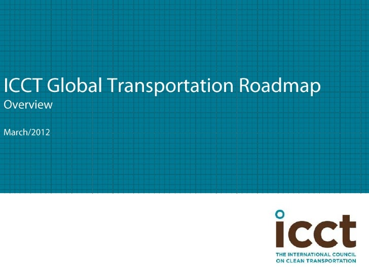 ICCT Global Transportation Overview