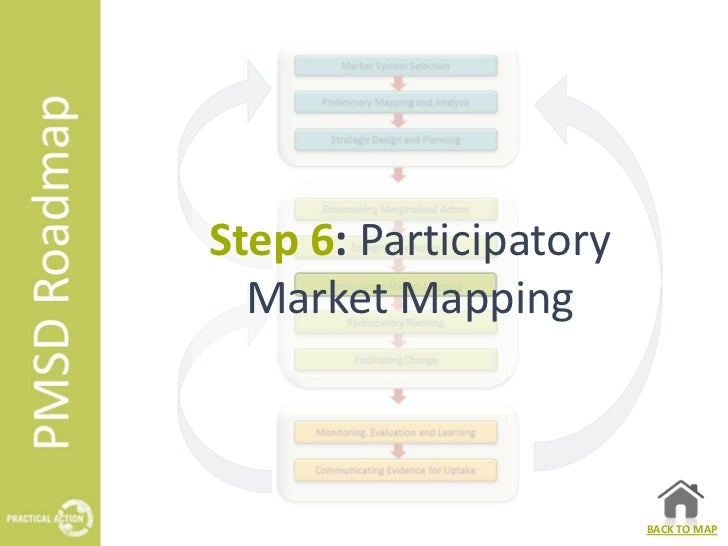 Step 6: Participatory Market Mapping