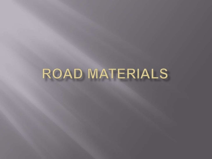    Generally for bituminous or asphalt pavement, the    aggregates constitute 88% to 96% by weight or    more than 75% by...