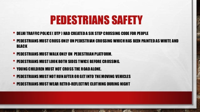 Road Safety Amp Rules
