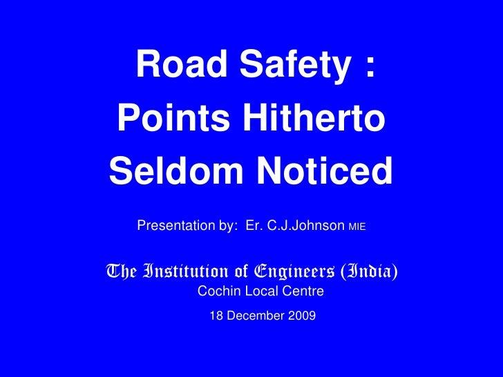 Road safety international