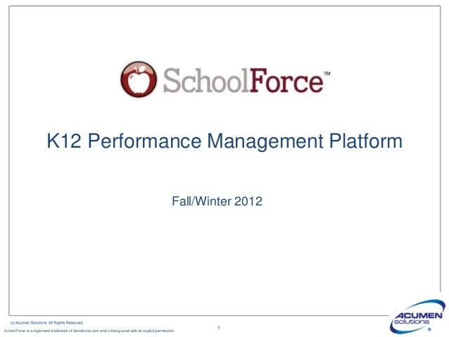 K12 Performance Management Platform                                                                                       ...
