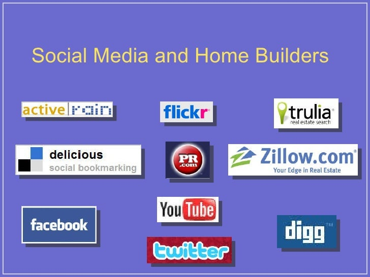 Social Media and Home Builders