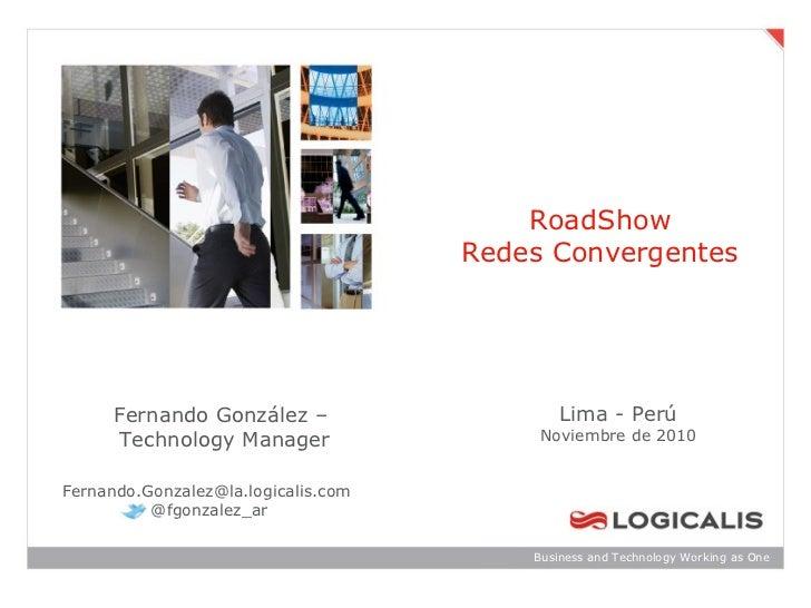 Road Show Redes Convergentes Perú