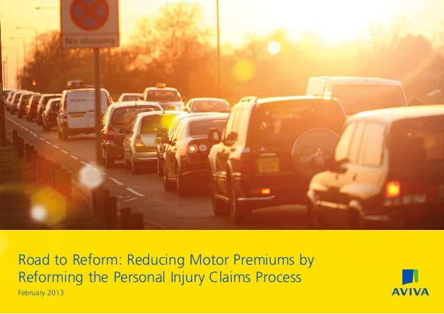 Road to Reform: Reducing Motor Premiums byReforming the Personal Injury Claims ProcessFebruary 2013