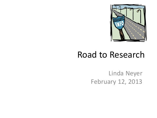 Road to research