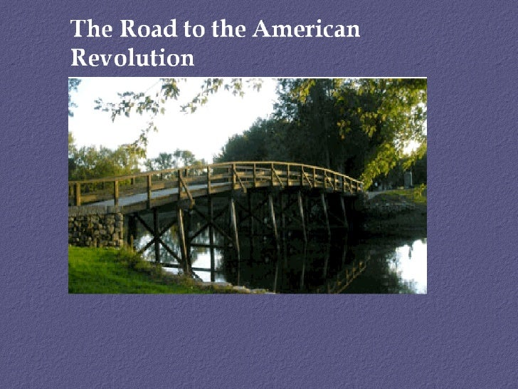 Road to revolution 2011