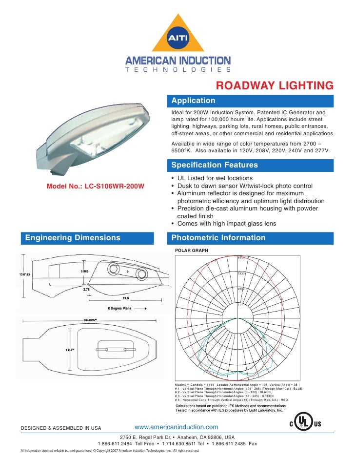 ROADWAY LIGHTING                                                                                                          ...