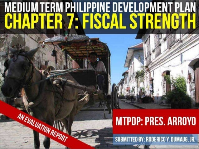 MTPDP: FISCAL STRENGTH