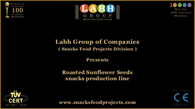 Roasted sunflower seeds snacks production line