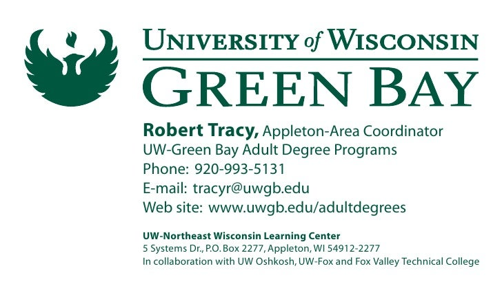 Rob Tracy's business card