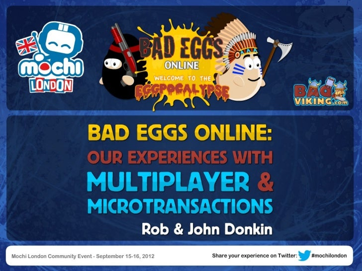 Bad Eggs Online: Our Experiences with Multiplayer by Rob & Jon Donkin