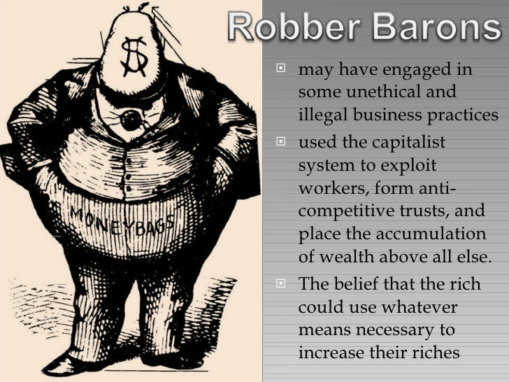 robber barons vs. captains of industry essay Robber barons or captains of industry essay whenever you feel that your essay misses something, you can send us.