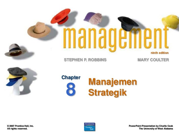 ninth edition                             STEPHEN P. ROBBINS          MARY COULTER                             Chapter    ...