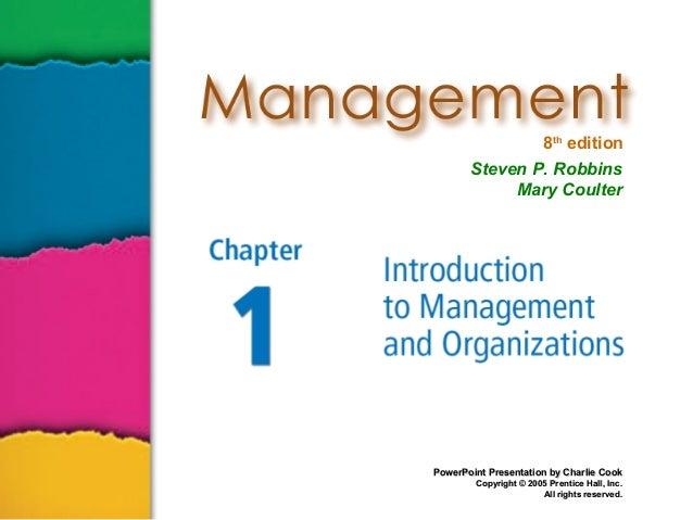 Matrikulasi Manajemen Robbins 01