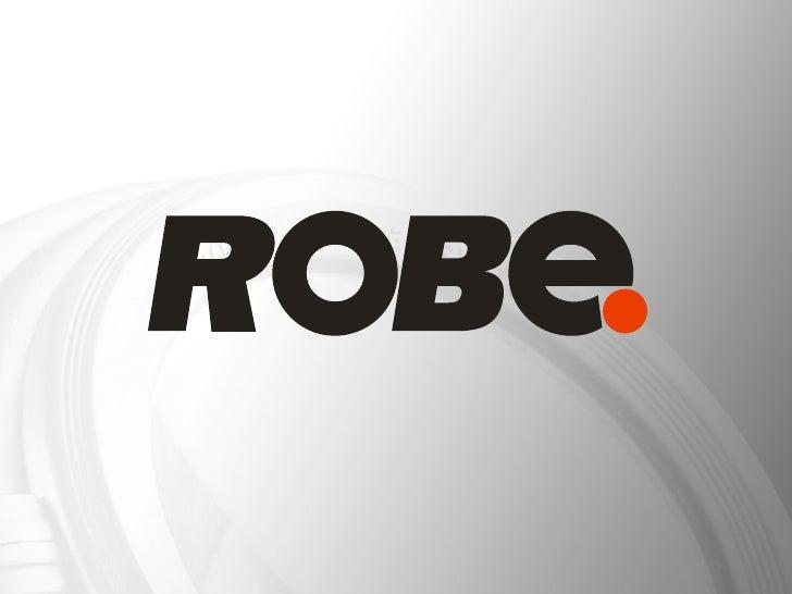 презентация фабрики Robe