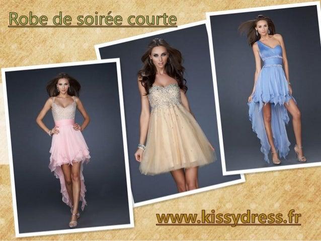 Belles robes de soirée courtes