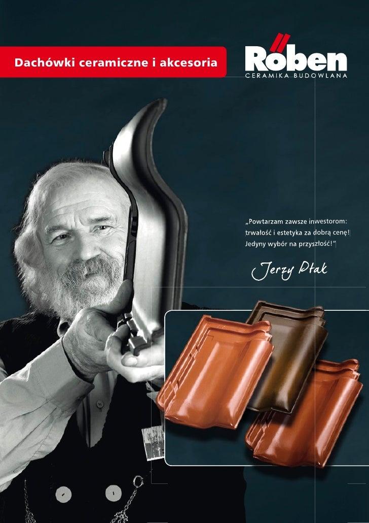 Roben -  folder dachówki i akcesoria