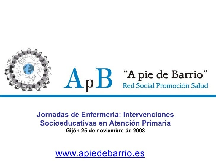 A Pie de Barrio