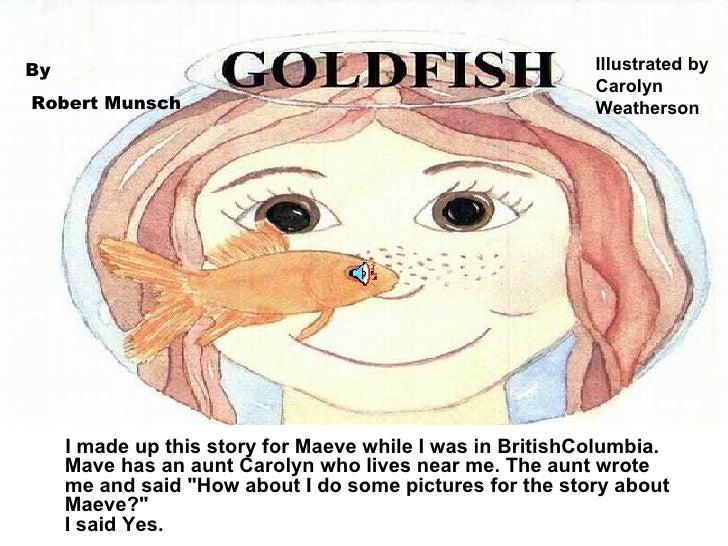 Robert Munsch The Goldfish