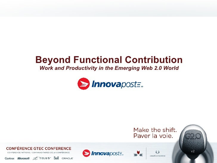 Beyond Functional Contribution Work and Productivity in the Emerging Web 2.0 World v2