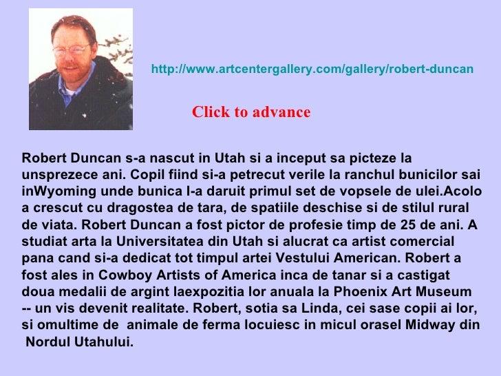 Robert duncan utah-viata la ferma