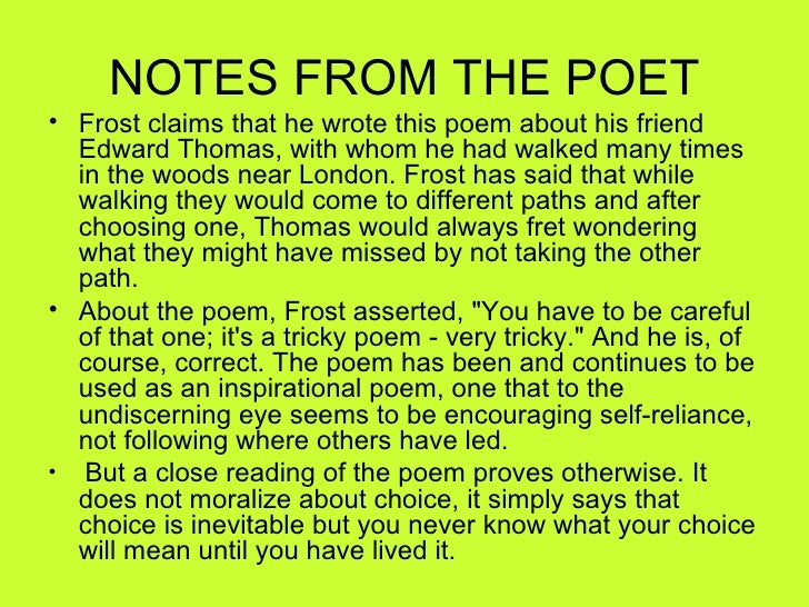 """an analysis of the poem the most of it by robert frost My analysis of robert frost's poems """"in white"""" and """"design"""" robert frost's """"design"""" and """"in white"""" draft poem versus finished product — which is superior in terms of its concrete images, more ominous tone, and darker implication."""