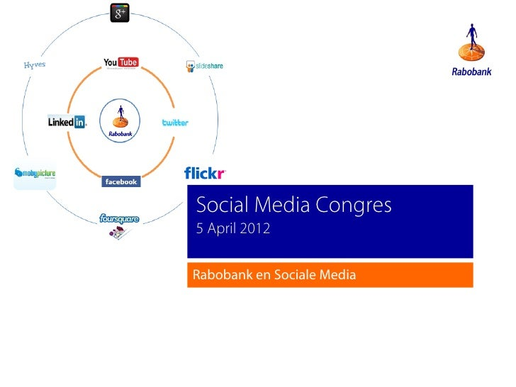 Social Media Congres5 April 2012Rabobank en Sociale Media