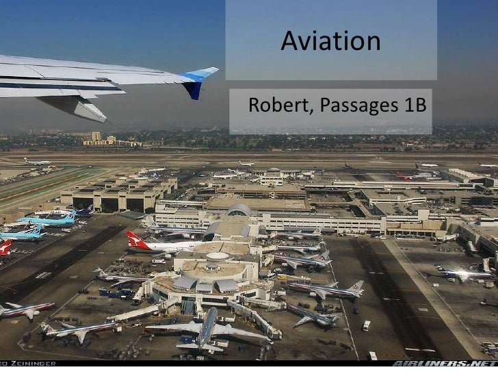 AviationRobert, Passages 1B