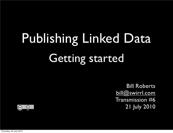 Transmission6 - Publishing Linked Data