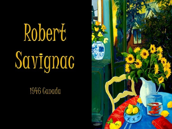 ROBERT  SAVIGNAC