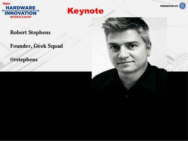 Robert Stephens at Hardware Innovation Summit 2013
