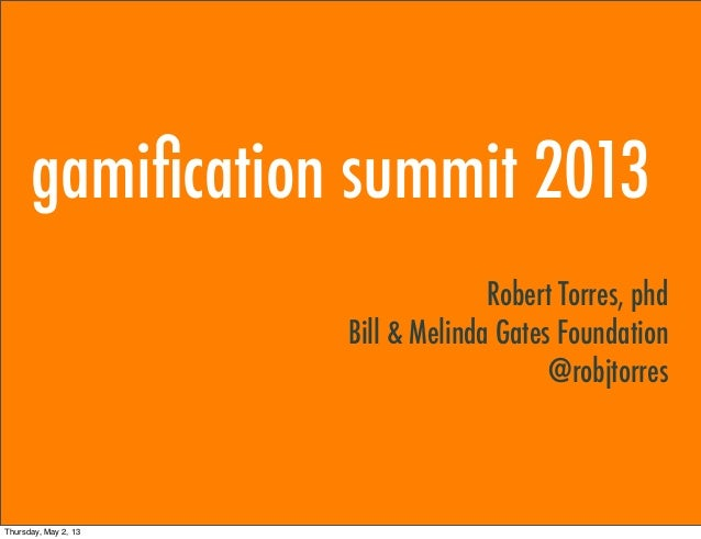 Robert Torres - Transforming Education with Gamification: The Past, Present and Future