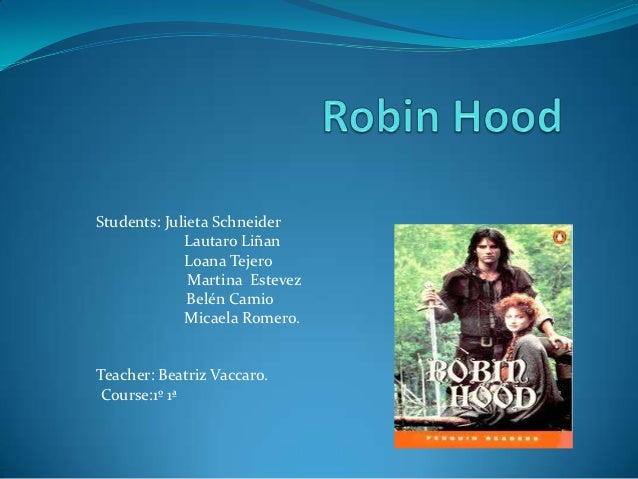 Robin hood 18