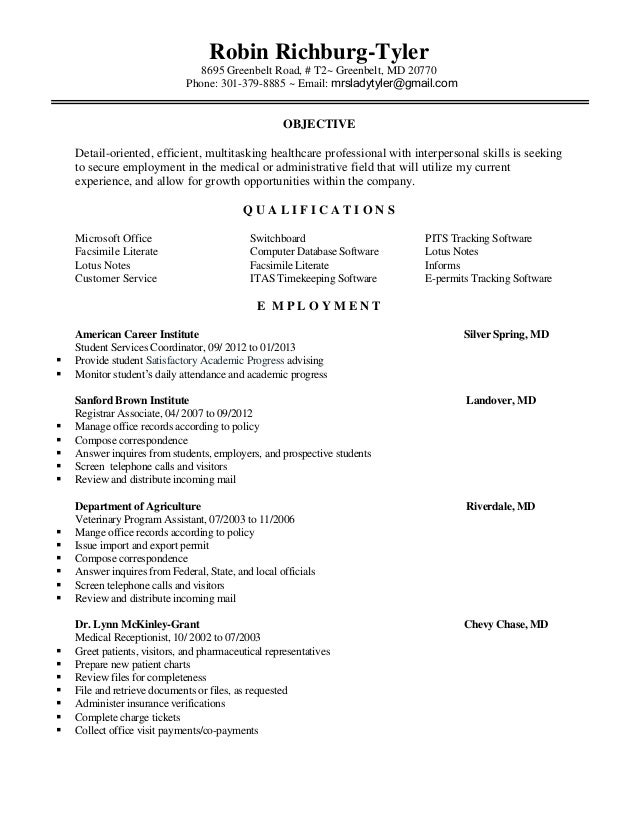 School Registrar Sample Resume   High School Diploma On Resume