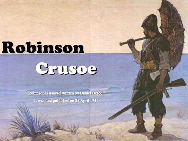Robinson Crusoe Essay - Shmoop
