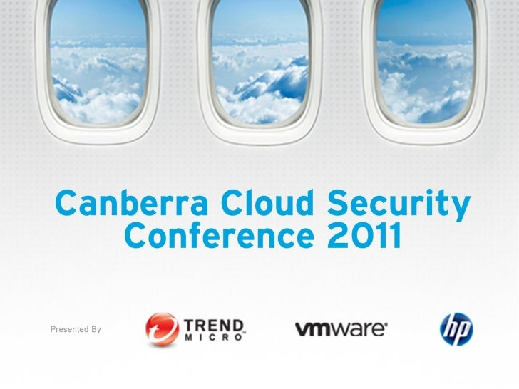 Rob livingstone Canberra Cloud Security Conference Nov 2011