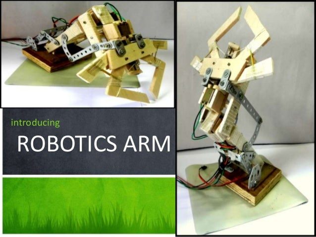 introducing ROBOTICS ARM a tour of new features