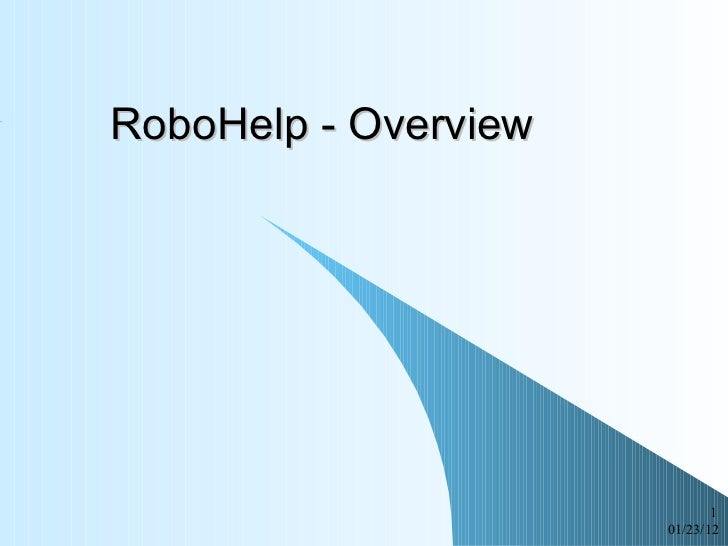 RoboHelp 2002 - overview