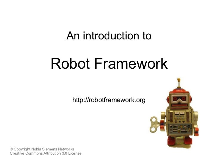 Robot Framework Introduction