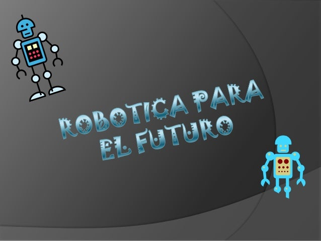 Robotica futuro