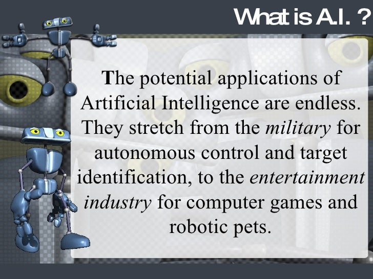 Dissertation On Artificial Intelligence Regarding Robots