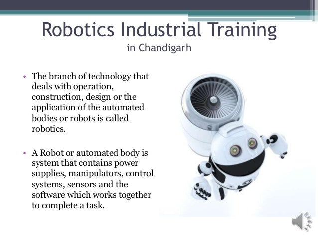 Robotics industrial training in chandigarh sector 17 for Architecture firms in sector 17
