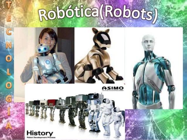 Primero robots aparecieron en el siglo XX . Las máquinassemejantes a personas, es decir un sistemaelectromecánico que real...