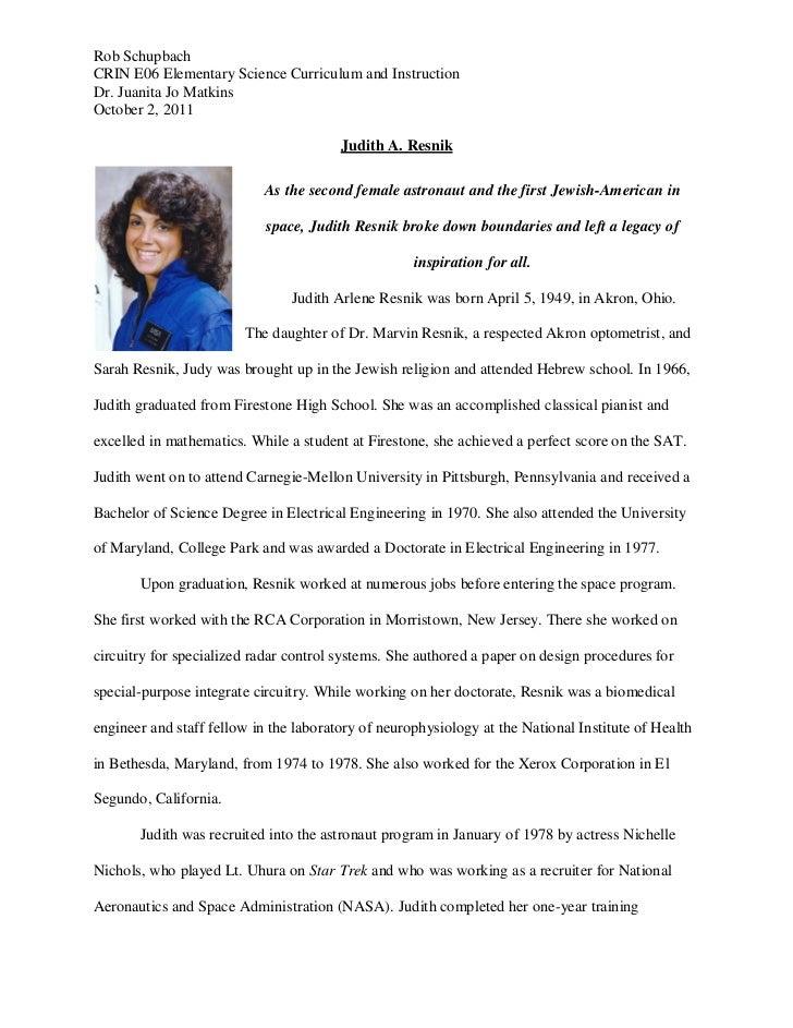 Rob SchupbachCRIN E06 Elementary Science Curriculum and InstructionDr. Juanita Jo MatkinsOctober 2, 2011                  ...
