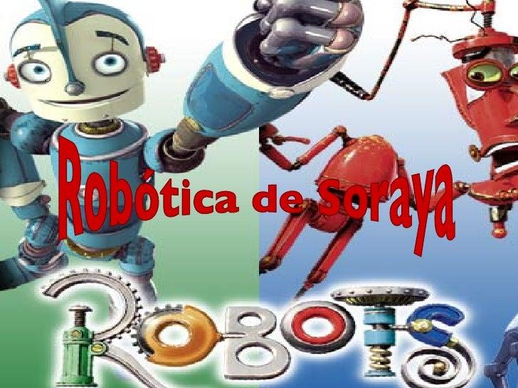 Robótica de Soraya