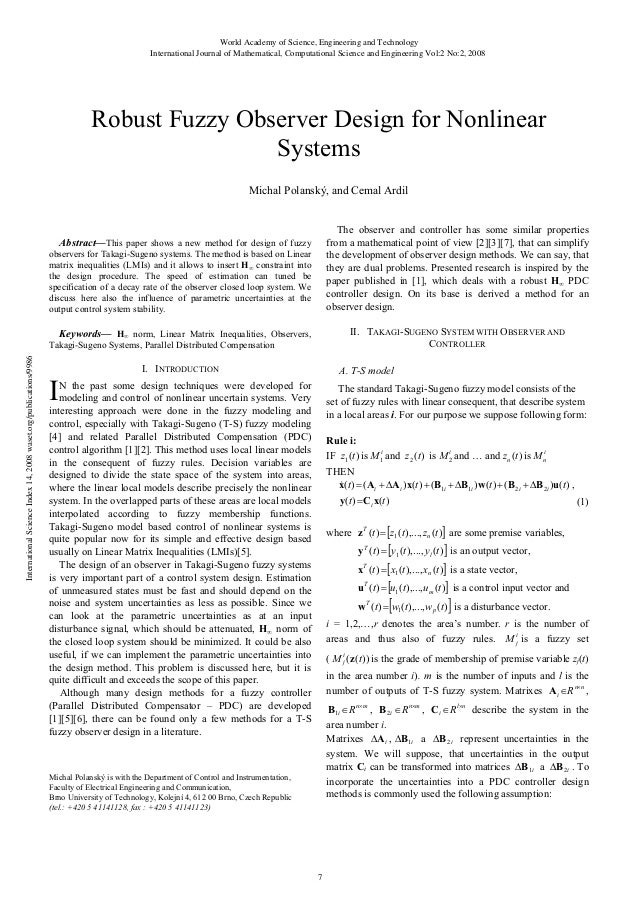 Robust fuzzy-observer-design-for-nonlinear-systems
